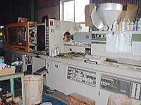 試作射出成形機(東芝機械220t成形機)